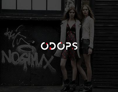 Логотип для магазина молодежной одежды ODOPS