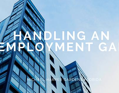 Handling an Employment Gap