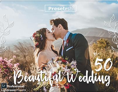50 Wedding Collection Lightroom Preset