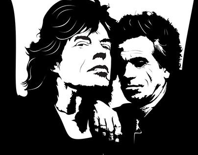 Keith y Mick