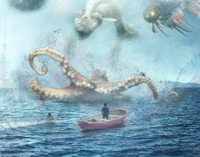 In a strange ocean