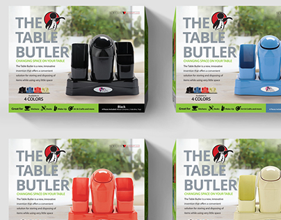 The Table Butler Package Design