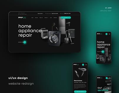 UI | UX Design (redesign) for RepairCare