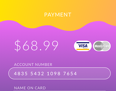 DailyUI #2 - Credit Card Checkout