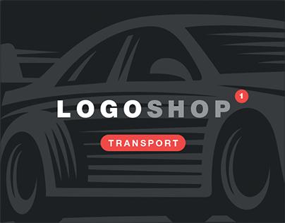Vehicles emblems set