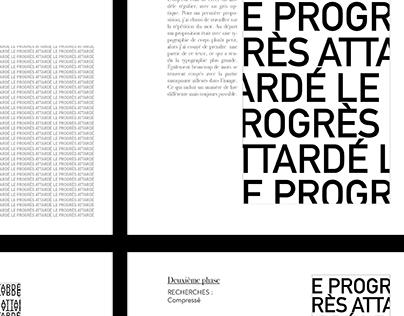 Mise en page - Typographie