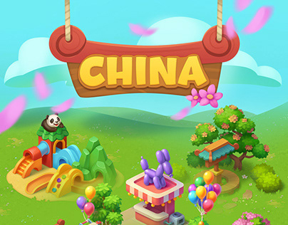 Wildscapes (Playrix) - China Areal