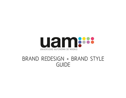 Universidad Autónoma de Madrid's Brand Redesign
