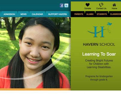 Wordpress Website For Havern School