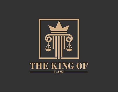 Law attorney logo design