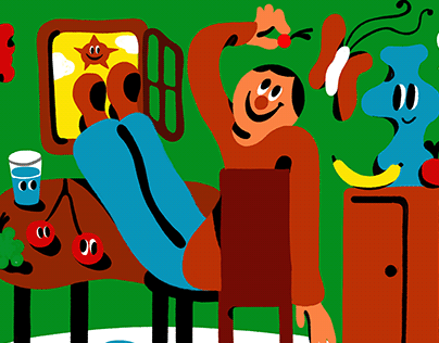Illustration for Double Blind Magazine