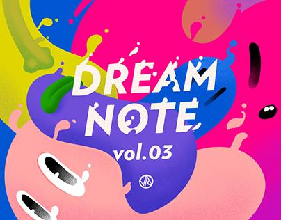 """""""dream note"""" ipad创作集vol.3"""
