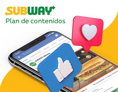 Subway- Social Media