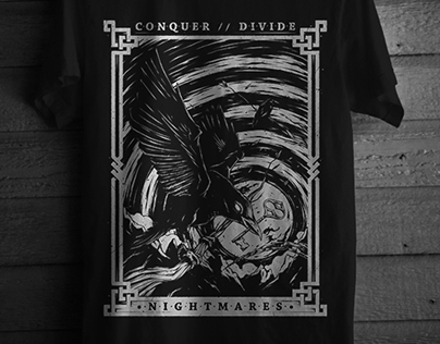 Conquer Divide // T-Shirt Illustration