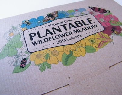 National Trust Plantable Wildflower Calendar