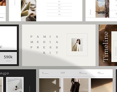 Pamia Media Kit