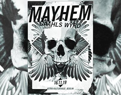 Mayhem and Gaahls Wyrd +GosT live in Berlin