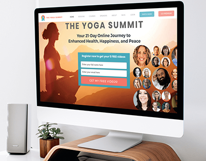 Yoga summit-Web design and development