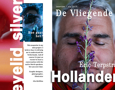 """De Vliegende Hollander"" - magazine template"