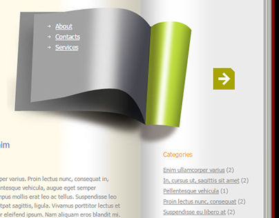 Book Design WordPress Theme