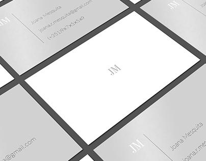 Personal Business Cards - JM
