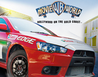 Warner Bros Movie World - Web Design