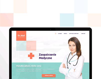 Or-Med - Landing page
