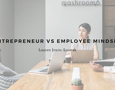 Entrepreneur vs Employee Mindset