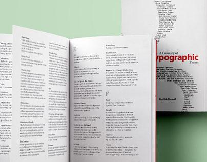 Typographic Glossary