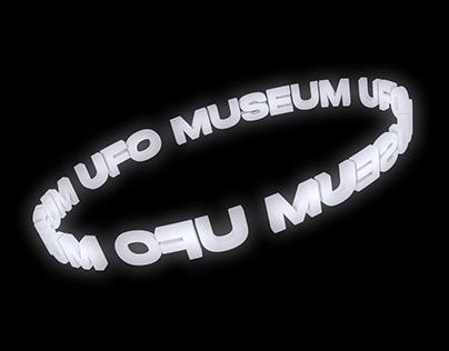 UFO MUSEUM - Museum Identity & Exhibition Design