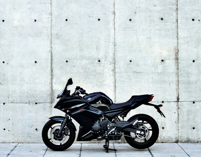 Yamaha Diversion F product photography