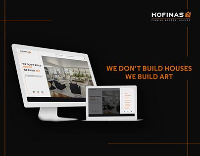 Kofinas S.A. Prefabricated Houses Website