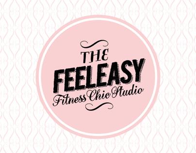 """FEELEASY"" Yoga & Pilates Studio Brand Identity"