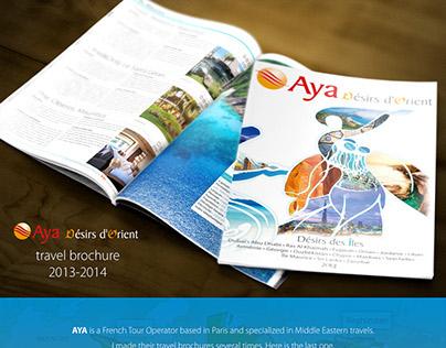 'Aya' Travel Brochure 2014