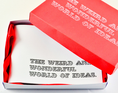 The weird and wonderful world of ideas