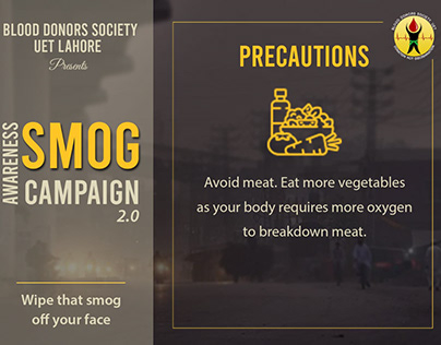 Smog Awareness Campaign by BDS UET LHR