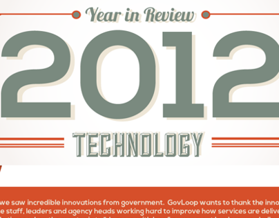2012 Government and Technology Infographic