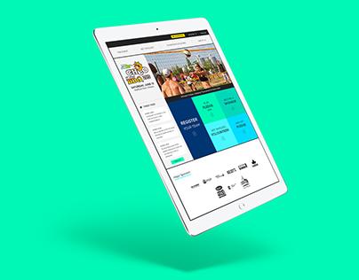 CHEO BBQ Website Re-design
