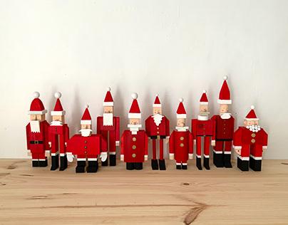 Ten Santa Project - Diez Papás Noel