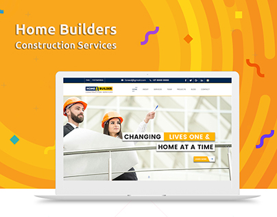 Home Builders Landing Page