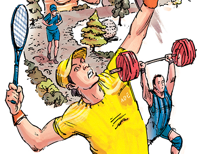 Tarzan Magazine: Sports That Are Bad For Your Health