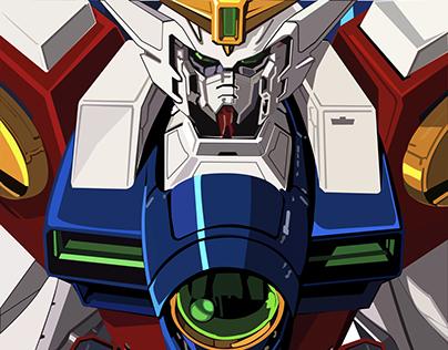 Zero Type Wing Gundam Vector Practice