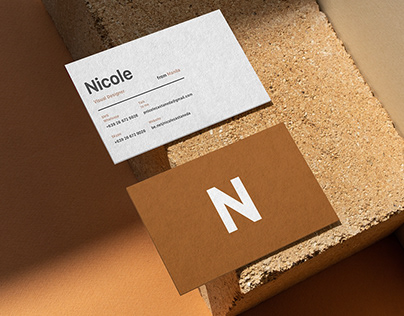 Business Card Mock-Up's