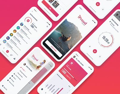 iProud - Fitness Tracking App