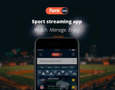 TurnOn iOS app