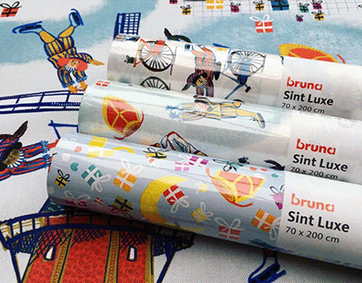 Wrapping papers 'Saint Nicholas'
