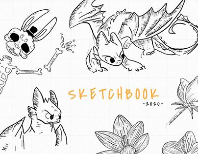 Sketchbook 2020   Aleatoriedades