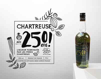 250 years of Chartreuse Verte liquor