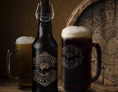 Opracowanie marki i opakowań piwa kraftowego + brand