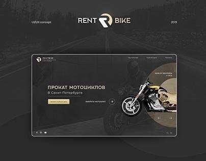 Motorcycle Rental web site
